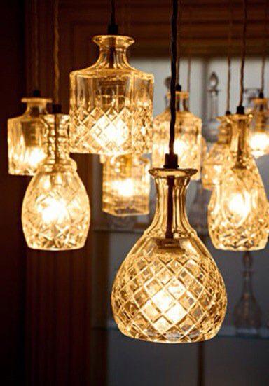 luminária decoração artesanal
